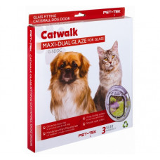 Catwalk Maxi Large Cat/Small Dog Door - Dual Glaze
