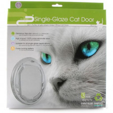 Pet-corp 4 way locking Cat Door - Slimline