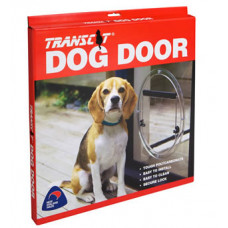 Transcat Medium Dog Door - glass fitting